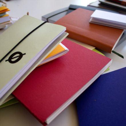 Projektwoche Buchbinden 2013