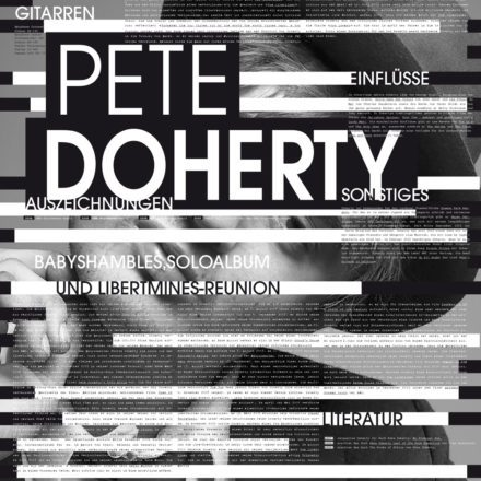 Tim Lindauer:  Pete Doherty